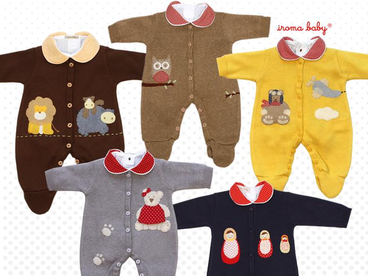 b476241f4 Novas roupas da maternidade Iroma Baby