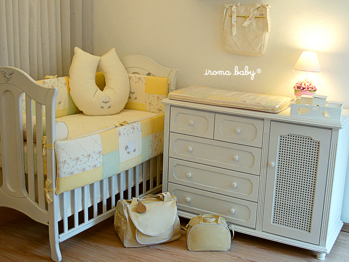 Quartos de bebês em amarelo Blog do bebê Iroma Baby