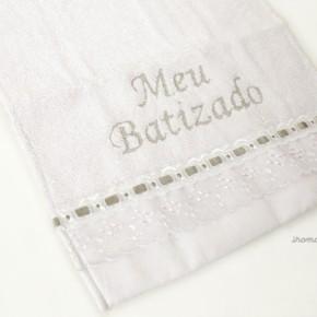 Toalha para batizado