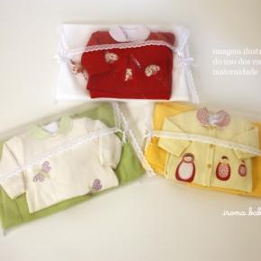 Envelopes para maternidade - kit com 3 peças