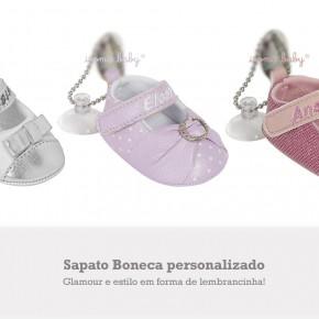 Lembrancinha Sapato Boneca personalizado