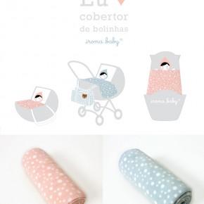 Cobertor de bebê para menina e menino