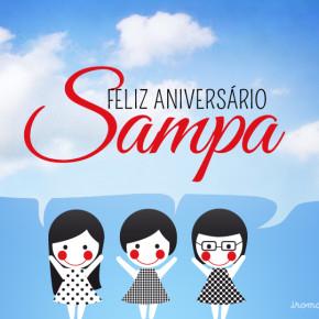 Feliz aniversário cidade de São Paulo!