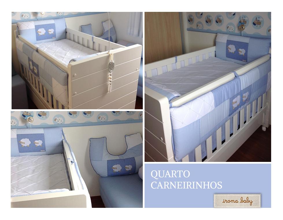 quarto bebe azul carneirinhos