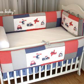 Protetor de berço, porquê este item é imprescindível para o quarto do bebê
